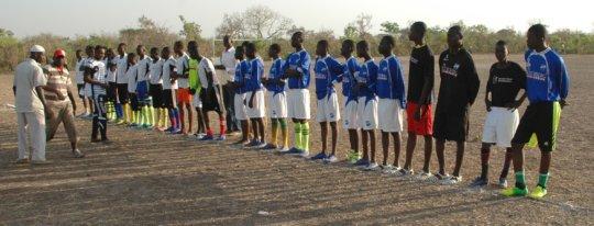 winning soccer team