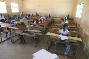 Children passing the test for the LAP in Nefrelaye