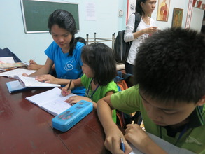 students ask for help in different school subjects