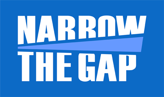 Narrow The Gap (Logo)