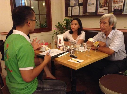 Meeting with Nhan Ai Social Work Club