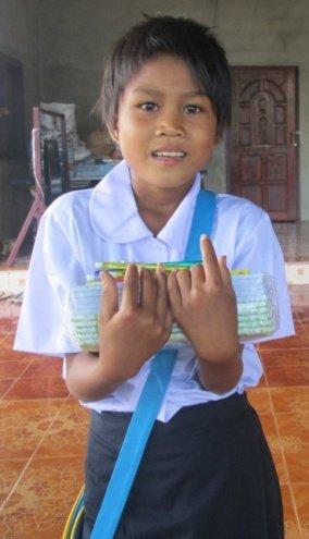 Your gift helped Buonlong get back in school.