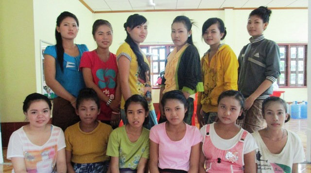 These 12 girls learned job skills because of you.