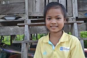 You're helping protect girls like Ke Sawn.