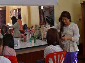 Khantin hopes to open a hair salon one day.