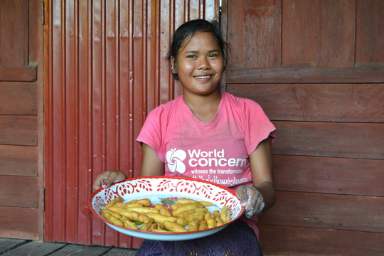 Your gift helped Leh start a small business!