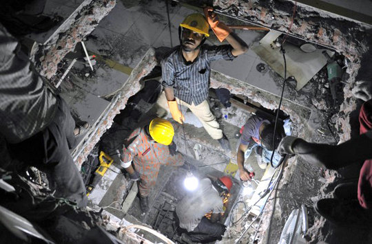 Digging for survivors: a rescuer's perspective