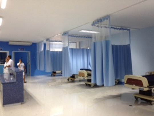 ICU Donated Beds Installed