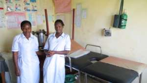 AAH students who are nurses at our Bupoto Clinic