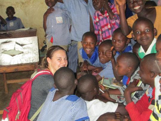 Volunteer at a local school