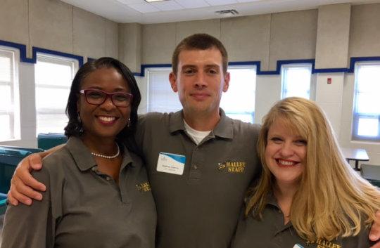 Halley Elementary Vice Principals & Principal