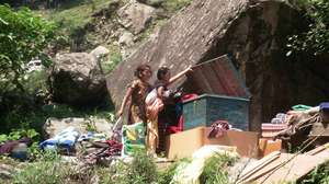 Flood Damage, Uttarakhand district