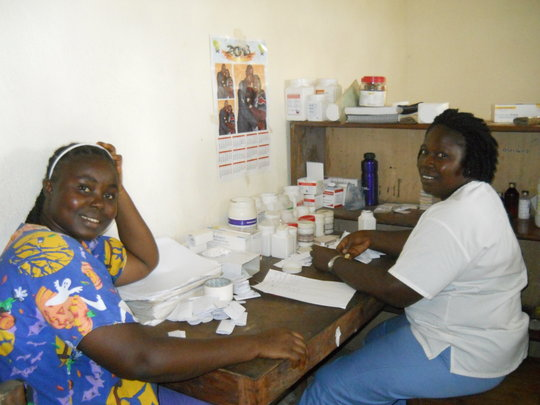 Dispensary Patient & Staff Imani House Clinic
