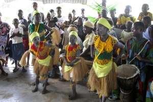 Dancers 2010 Celebrate New IHI Clinic Bldg.