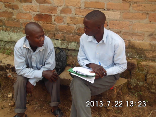 one to one discussion about positive living