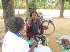 counselling session of the pregnant mother