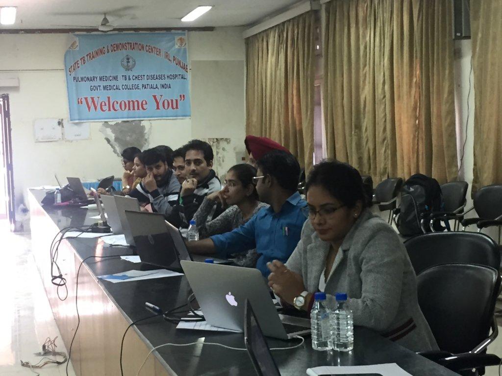 Workshop at Patiala