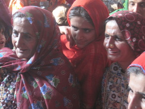 Sughar women in the HUB