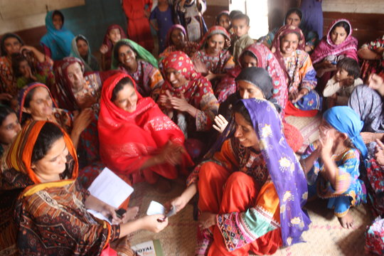 Women receiving monthly wages by Sughar Team