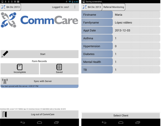 The CommCare app