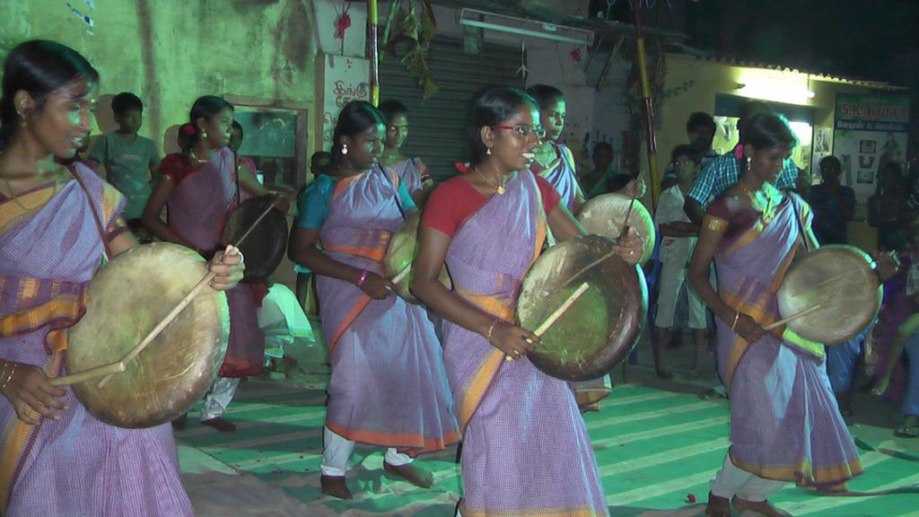 Folk Dance by girls