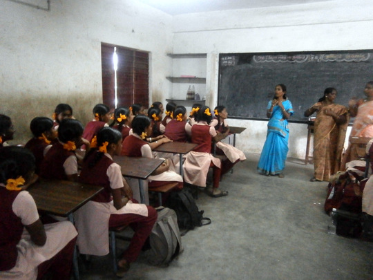 Lifeskill and sexuality education in a school