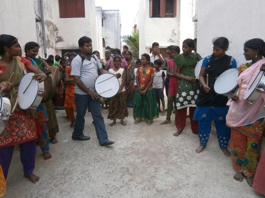 folk dance training