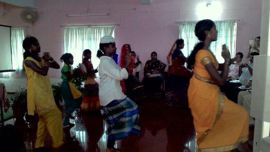 Snehidhi Members dance performance