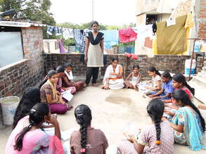 Supplementary education in a slum