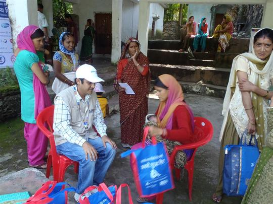 AmeriCares beneficiary