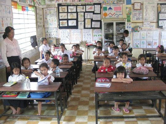 The children at school