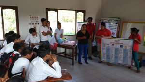 Teaching reproductive health in local High School