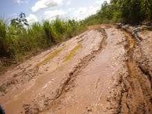 Roads in La Banda