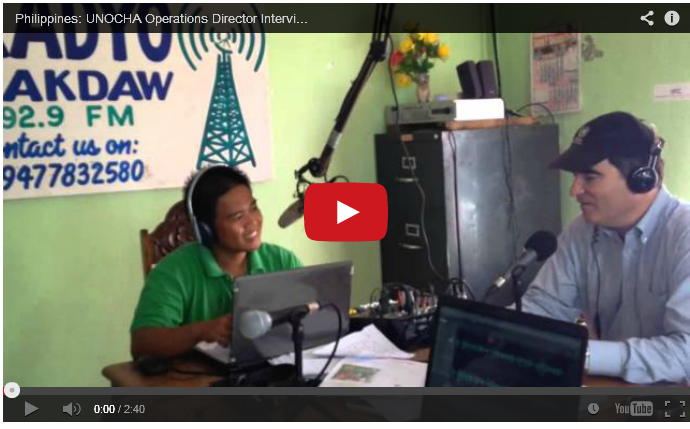 UNOCHA Interview on Radio Bakdaw