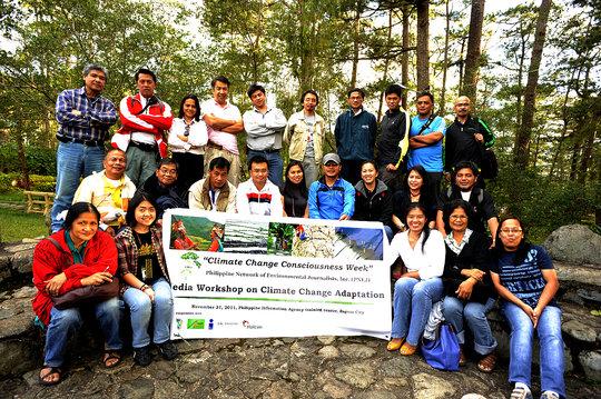 Climate Change media workshop for local journos
