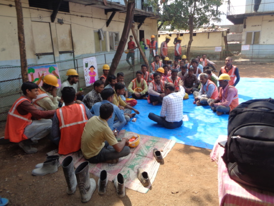 Chai Paani Meeting at centre in Airoli ( Navi Mumb