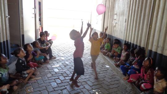 Children enjoying festival of play!