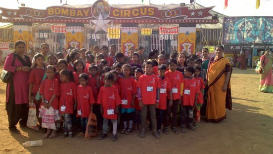 MMC Children at Bombay Circus