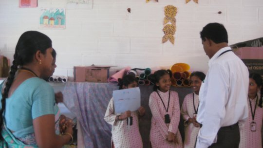 Students narrate their food items - 1