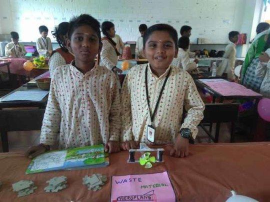 Science Exhibition At Erode School - 2