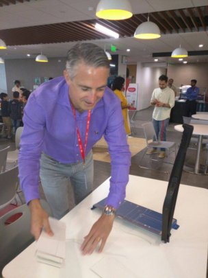 HSBC India CEO volunteers