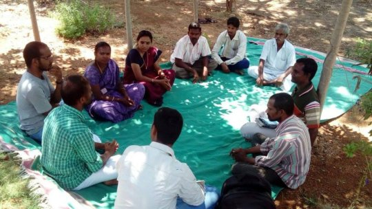 Gardening coordinators discuss organic farming (1)