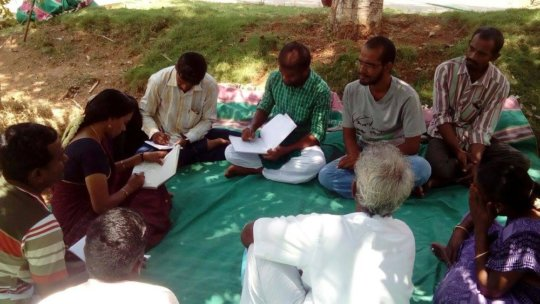 Gardening coordinators discuss organic farming (3)