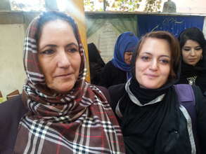 Anissa, left, and her daughter