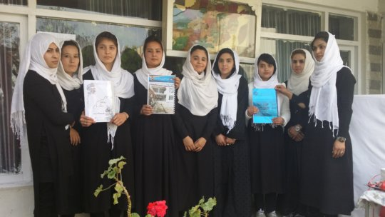 Kabul students launched a women's rights magazine