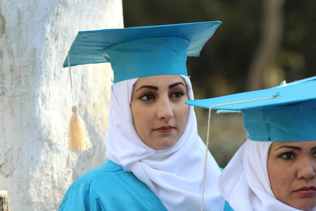 Frozan at graduation
