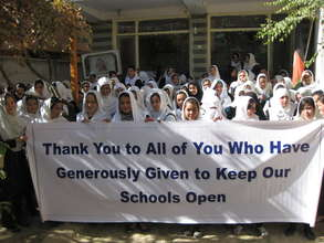 Thank you from the students