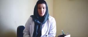 Anita Azizi in her office