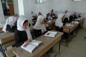 Girls education in Afghanistan.