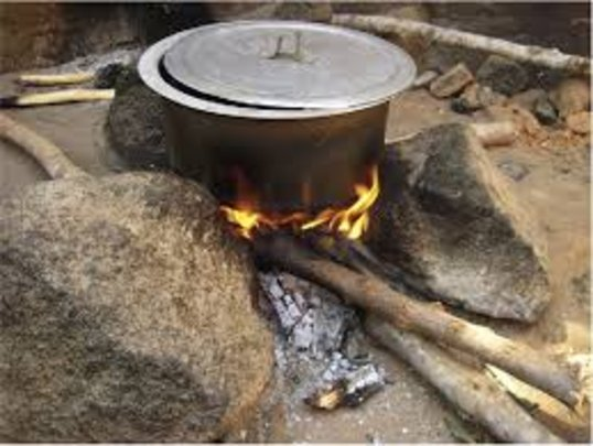 Image result for stone wood cooking stove